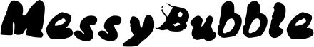 MessyBubble Font