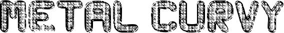 Metal Curvy Font