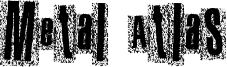 Metal Atlas Font