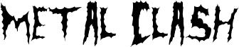 Metal Clash Font