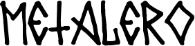 Metalero80 Font
