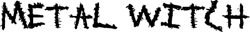 Metal Witch Font