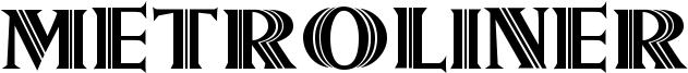 Metroliner Font