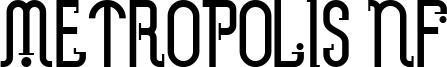 Metropolis NF Font