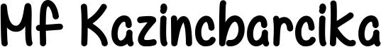 Mf Kazincbarcika Font