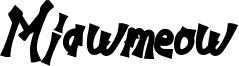 Miawmeow Font