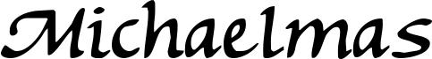 Michaelmas Font