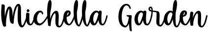 Michella Garden Font