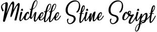 Michelle Stine Script Font