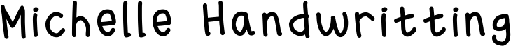 Michelle Handwritting Font