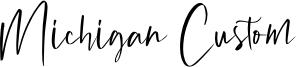 Michigan Custom Font