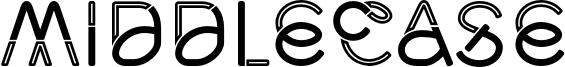 Middlecase Font