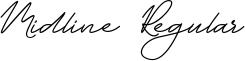 Midline Regular Font