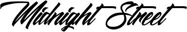 Midnight Street Font