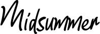 Midsummer Font