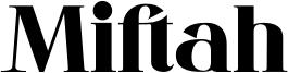 Miftah Font