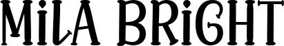 Mila Bright Font
