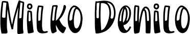 Milko Denilo Font