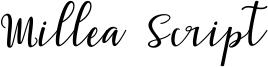 Millea Script Font