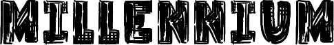 Millennium Font