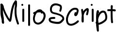 MiloScript Font