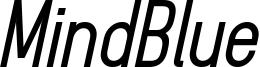 MindBlue_bold_italic_demo.otf