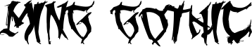 Ming Gothic Font