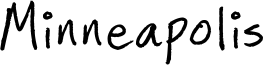 Minneapolis Font