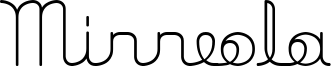 Minneola Font