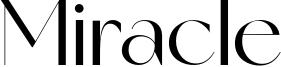 Miracle Font