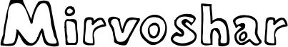 Mirvoshar Font