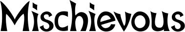Mischievous Font