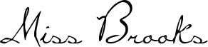 Miss Brooks Font