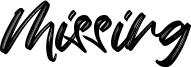 Missing Font