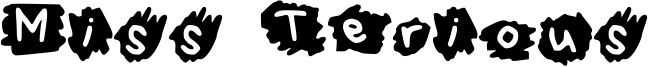 Miss Terious Font