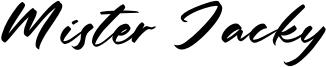 Mister Jacky Font