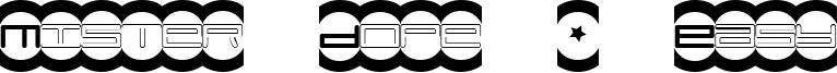 Mister Dope + Easy Font