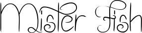 Mister Fish Font