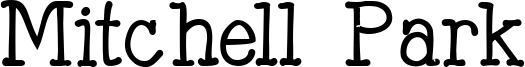 Mitchell Park Font