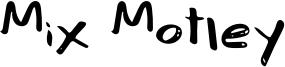 Mix Motley Font