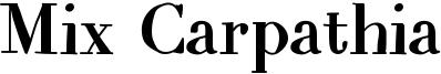 Mix Carpathia Font