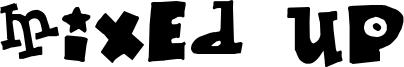 Mixed Up Font