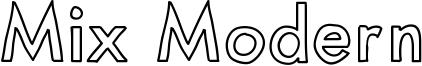 MixModernOutline.ttf