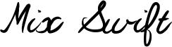 Mix Swift Font