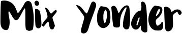 Mix Yonder Font