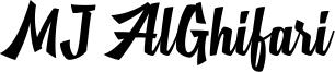 MJ AlGhifari Font