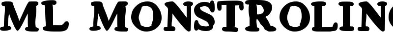 ML Monstrolino Font