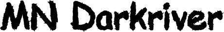 MN Darkriver Font
