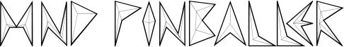 MND Pinballer Font