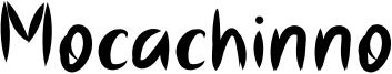 Mocachinno Font